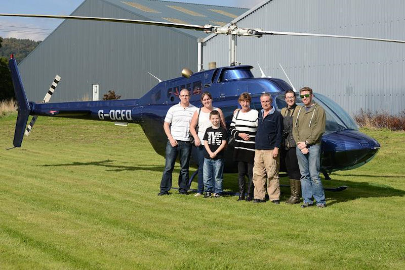 Helicopter Flights Wales - Pleasure and business flights